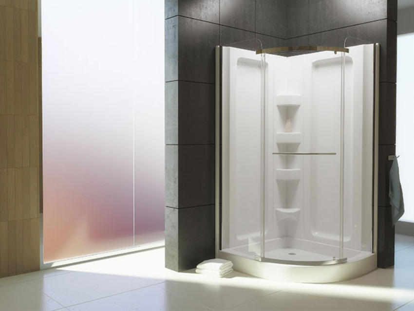 architects beautiful shower design showers bathroom crisp chic